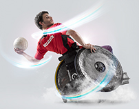 Belgian Paralympic Committee campaign - GDF SUEZ