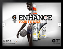 Gatorade : touch-screen Point of Sale concept