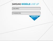 Samsung Mobile Line Up