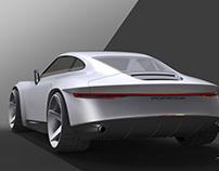 El arte de la Porsche 911