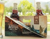 Packaging Cerveza Austral Torres del Paine