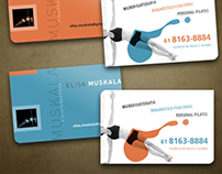 Business Card + Fly 2012 | Elisa Muskala • Fisioterapy