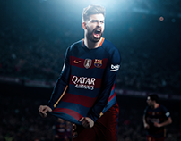 New Edit For Gerard Pique