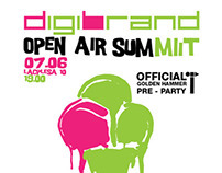 "Festival: Golden Hammer pre-party ""Digibrand Open Air"""