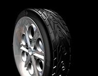 Dunlop Tyre Concept