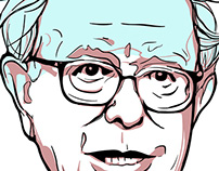 Bernie Sanders Illustration