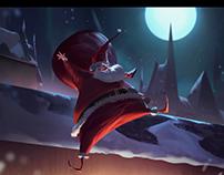 Santa rocking!