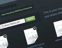 File Sharing App UI Design