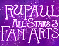 Rupaul All Stars 3 - FanArts