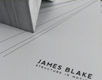 Structure in Motion. Visual Response to James Blake