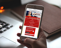 Premier Insurance Agency mobile website