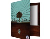 Top Reinforced 2 Pocket Presentation Folder