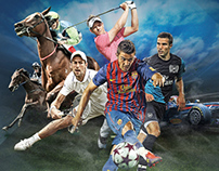 Sports promotions  and artworks