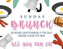 Sunday Brunch Poster