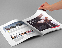 Freebie | Magazine Template