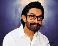 Aamir Khaan Digital Painting