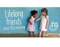 Tourism Fiji Website Branding