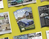 Editorial Design: DriveHOME Magazine Issue 1