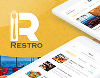 Restro Restaurant Application UI Design