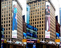 I'm Dying Up Here: Times Square Billboard   Showtime