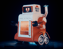 Pizzza Hoot DeliveryBot