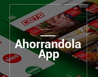 ¨Ahorrandola¨ App personal