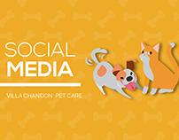 Social Media - Villa Chandon Pet Care 2018/2019