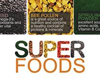 Ingredients and Super Foods Designs