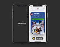 Square Enix concept app