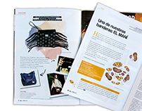 -Ilustración editorial- Moda / Gastronomía