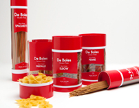 De Boles Gluten Free Pasta Packaging