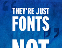 dont say posters   one .