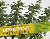 Deforestation Posters--School Project