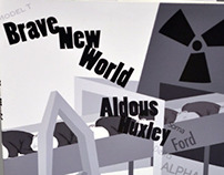 """Brave New World"" Book Jacket"