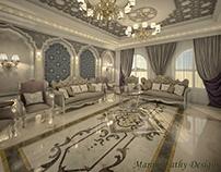 Islamic Morocco Design of Living Area