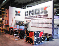 Omax booth design