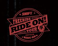 #RideOnTour