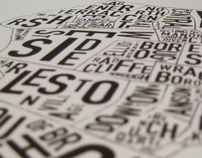 Charleston typography map