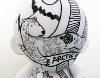 """Arctic or Bust"" Munny"