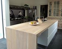 Arclinea Convivium kitchen