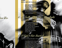 Billie Holiday Album CD Booklet (Mock design)