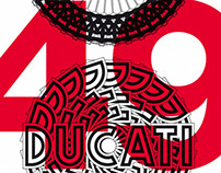 DUCATI OFFICIAL ART  limited edition posters