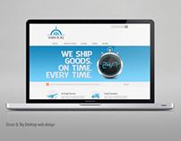 Ocean & Sky Web Responsive design