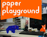 Paper Playgrounds Typeface