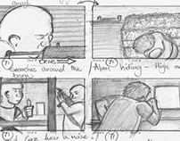 Death Run Storyboard