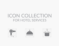 Icon Collection for hotel services