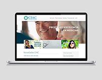 CIAC - Sitio web