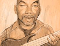 Michael Horgan Musician and Caricature artist