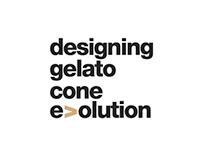 Designing Gelato Cone Evolution