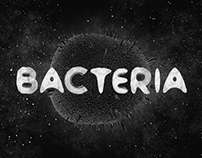 Bacteria typeface